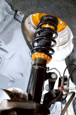 XYX JAPAN、車高調整ショックアブソーバ、BMW320i、リーズナブルな車高調