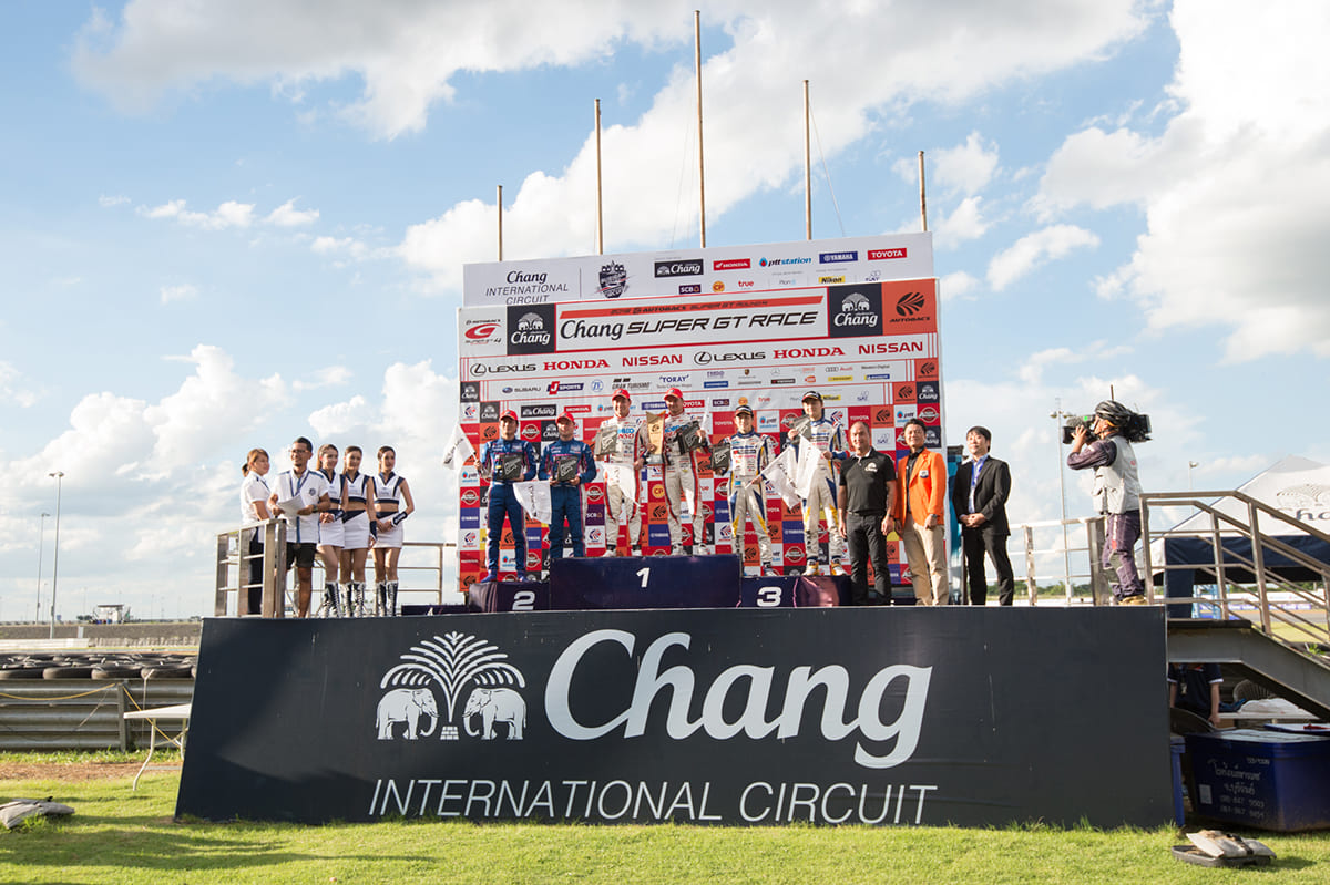 SUPER GT 2018、Rd.4、第4戦、タイ、THAI