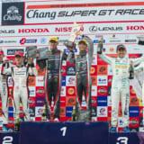 【画像】「SUPER GT 2018 第4戦」レクサス勢が1〜4位フィニッシュ、昨年の王者が復活か