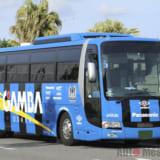 【画像】ブリッドシート「ZAOU 」 ガンバ大阪のトラック&バスに採用決定