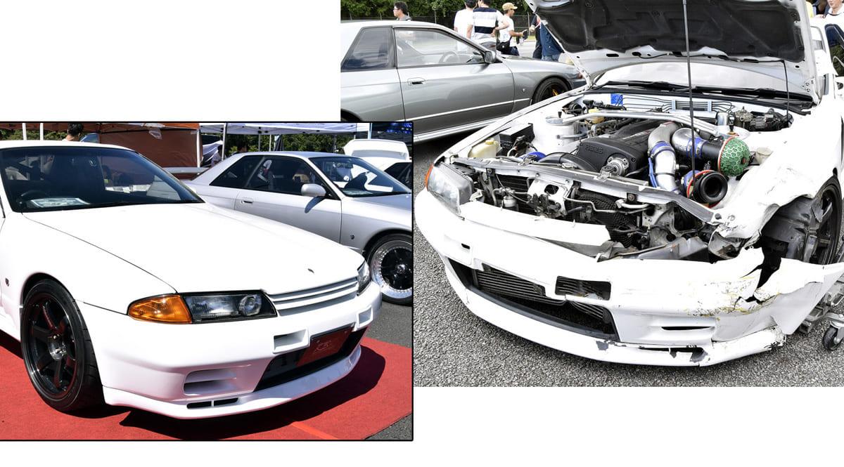 大事故から復活したR32スカイラインGT-Rの『Before & After』