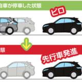【画像】「前車との接近&発進の遅れをアラートする」後付け運転支援システム