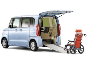 車いすの乗降をラクにして介護者への負荷を軽減するスロープタイプの工夫