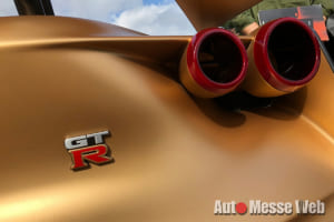 価格は1億円超え!世界限定50台の日産GT-Rが日本でサプライズ初公開【動画】