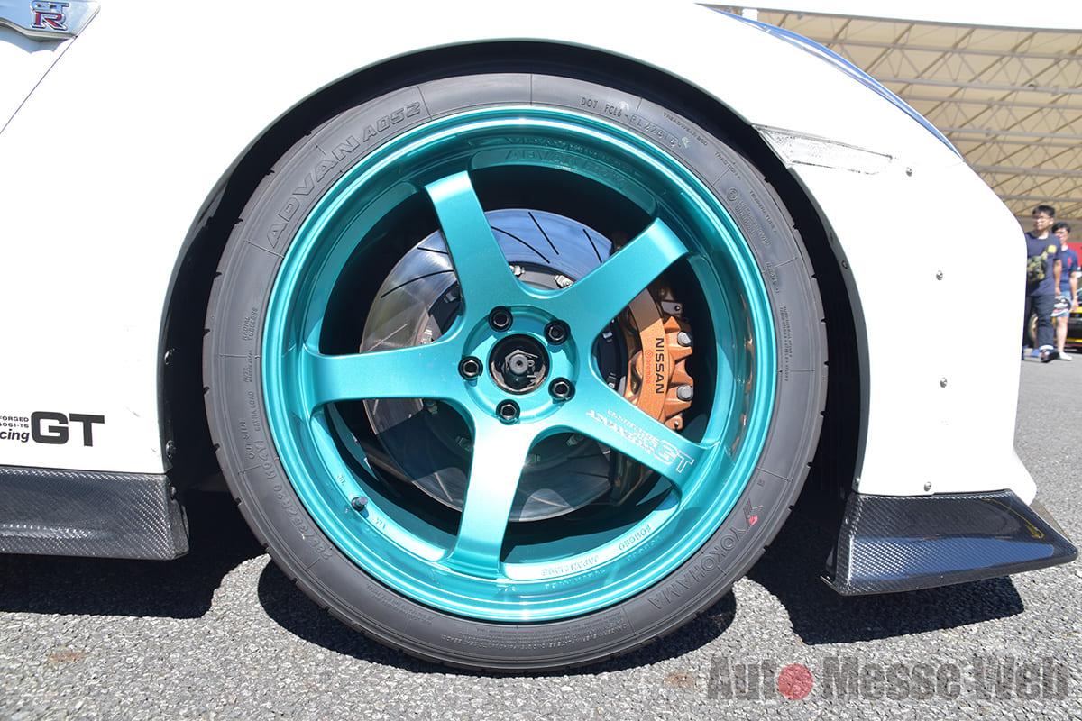 GT-Rの祭典で見た「ホイールカラーの新しい流れ」