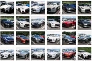 歴代モデルが富士を占拠!! R35GT-Rオーナーカー画像ギャラリー【R's Meeting 2018】