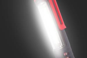 災害時の非常灯としても使える広範囲を照らせる作業用『LEDライト』