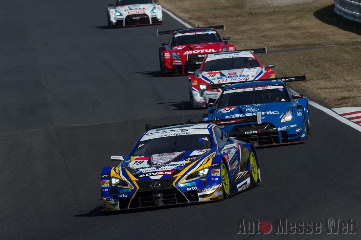 レクサスLC500が1〜4位を独占「SUPER GT 2018 第7戦・決勝レース結果」