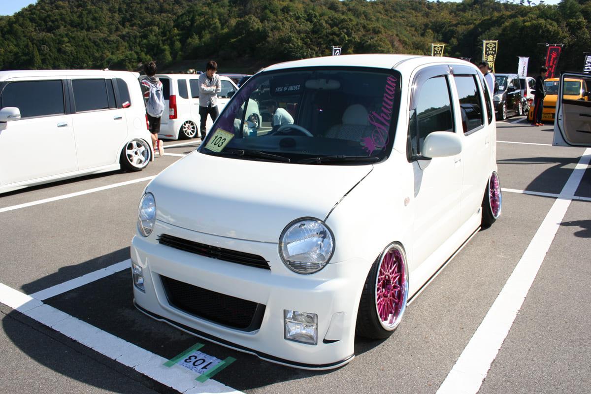 女子が作り出したカスタムK-CAR & KING OF K-CAR参加車両160台オーバー掲載!