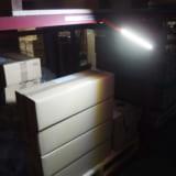 【画像】災害時の非常灯としても使える広範囲を照らせる作業用『LEDライト』