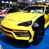 ランボルギーニのピックアップ? 未来の自動車業界を担う、若者が製作した独創の1台