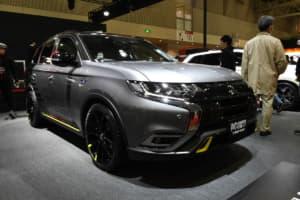 三菱自動車が「イエロー」を使った新スポーツグレードを提案