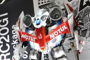 来場者が驚愕! 大阪オートメッセに登場したロボット「神眼」の正体とは
