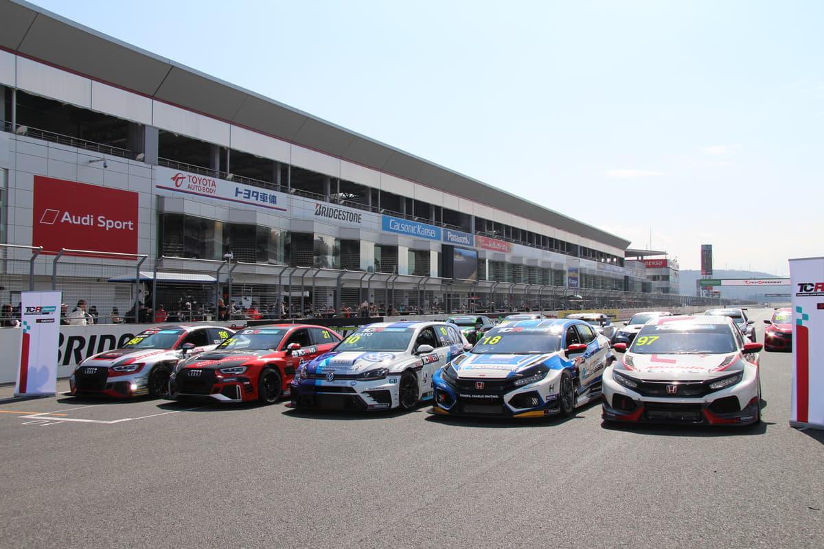 市販車ベースのスプリントレース「TCRジャパンシリーズ」開幕へ