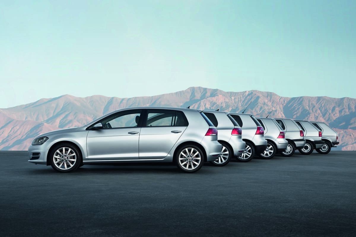 VWゴルフ、41秒に1台の受注!誕生45年目で3500万台超を生産