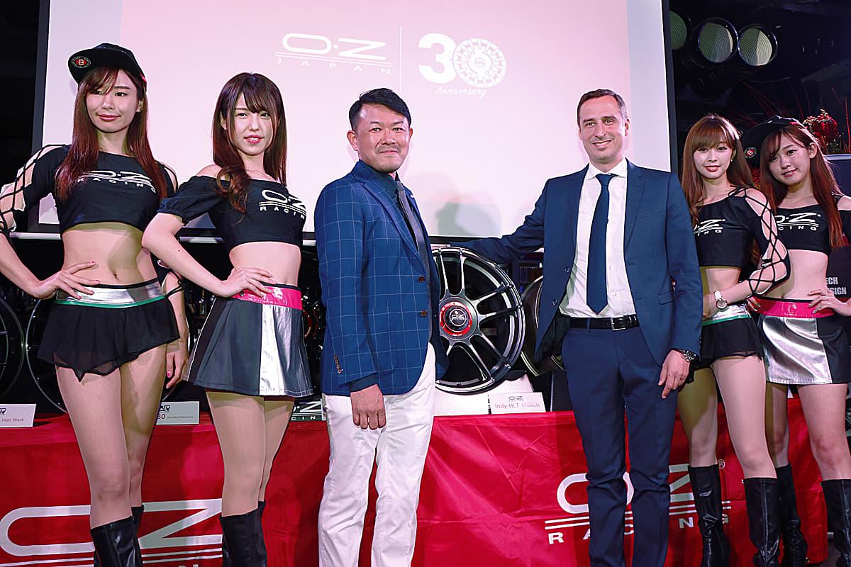 ホイールメーカー「OZ」日本法人が創立30周年!新作モデルを続々発表