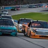【画像】NASCARトラックシリーズ第9戦、服部監督が率いるHREは2戦連続で8位フィニッシュ