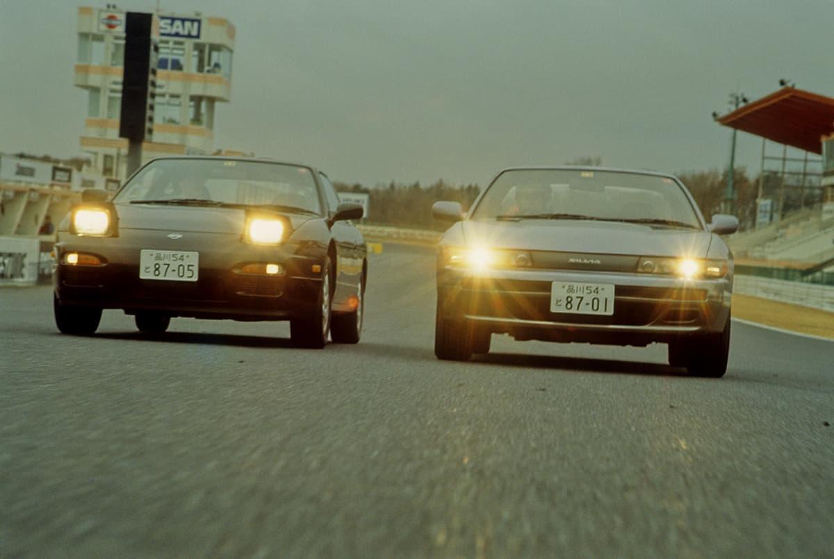 ドリフトにオススメの車、シルビア、180SX、スープラ