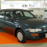 【画像】日本の大衆車「トヨタ・カローラ」 前輪駆動で大ヒットした5〜8代目を振り返る