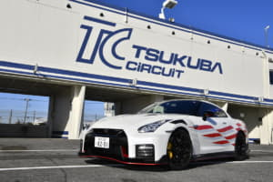 日産GT-R NISMO 筑波サーキットで最速タイムを記録! 1分切りの舞台裏に迫る