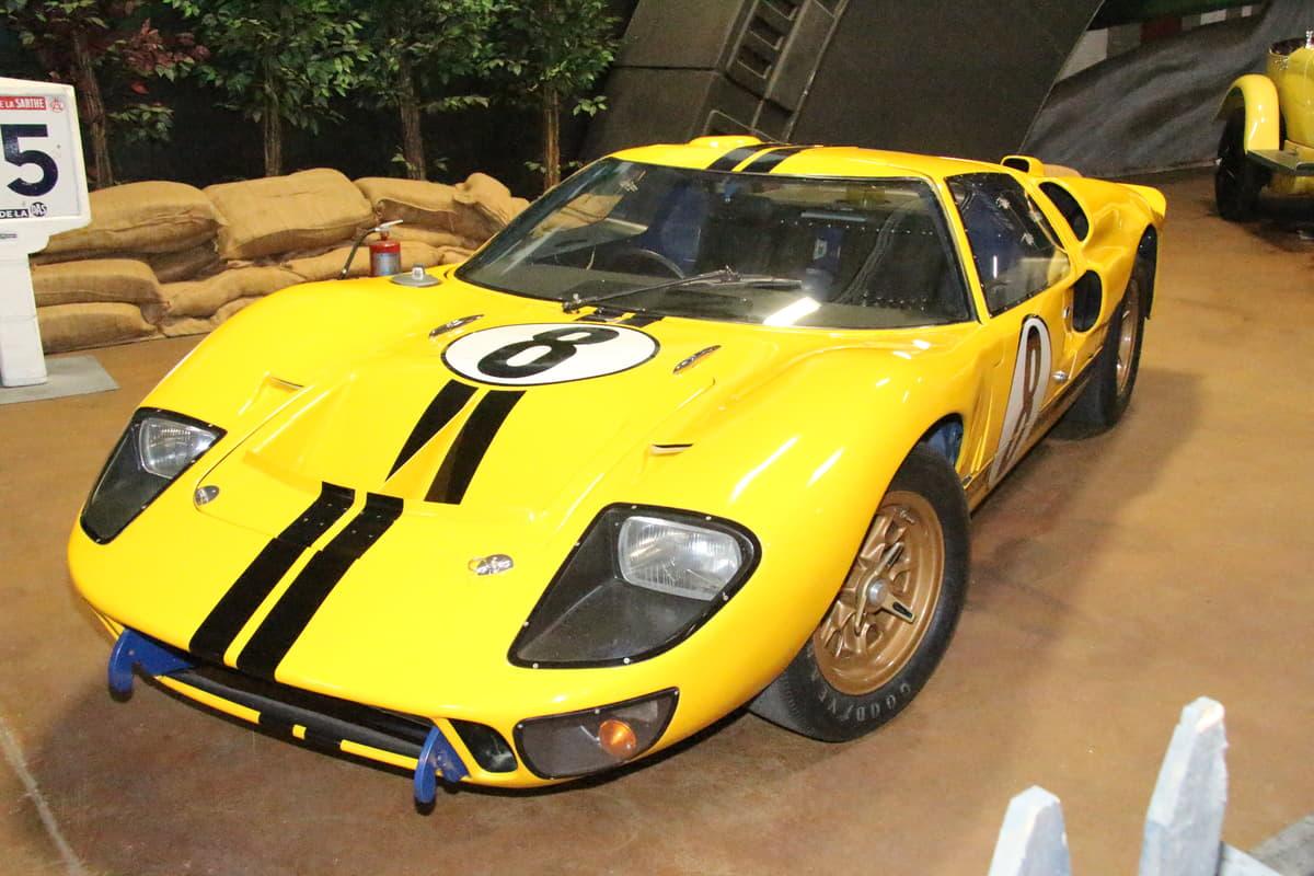 映画「 フォードvs フェラーリ」で話題のフォードGT40のプロトタイプモデルから最終モデルGT40まで