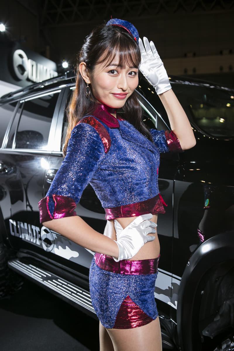 東京オートサロン2020のコンパニオンやキャンギャル画像集