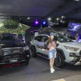TRD、トヨタRAV4とハイラックスで2つのアウトドアスタイルを新提案!【大阪オートメッセ2020】