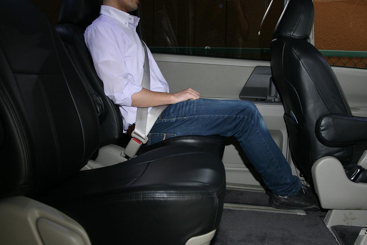 高齢者など同乗者に負担を掛けない運転