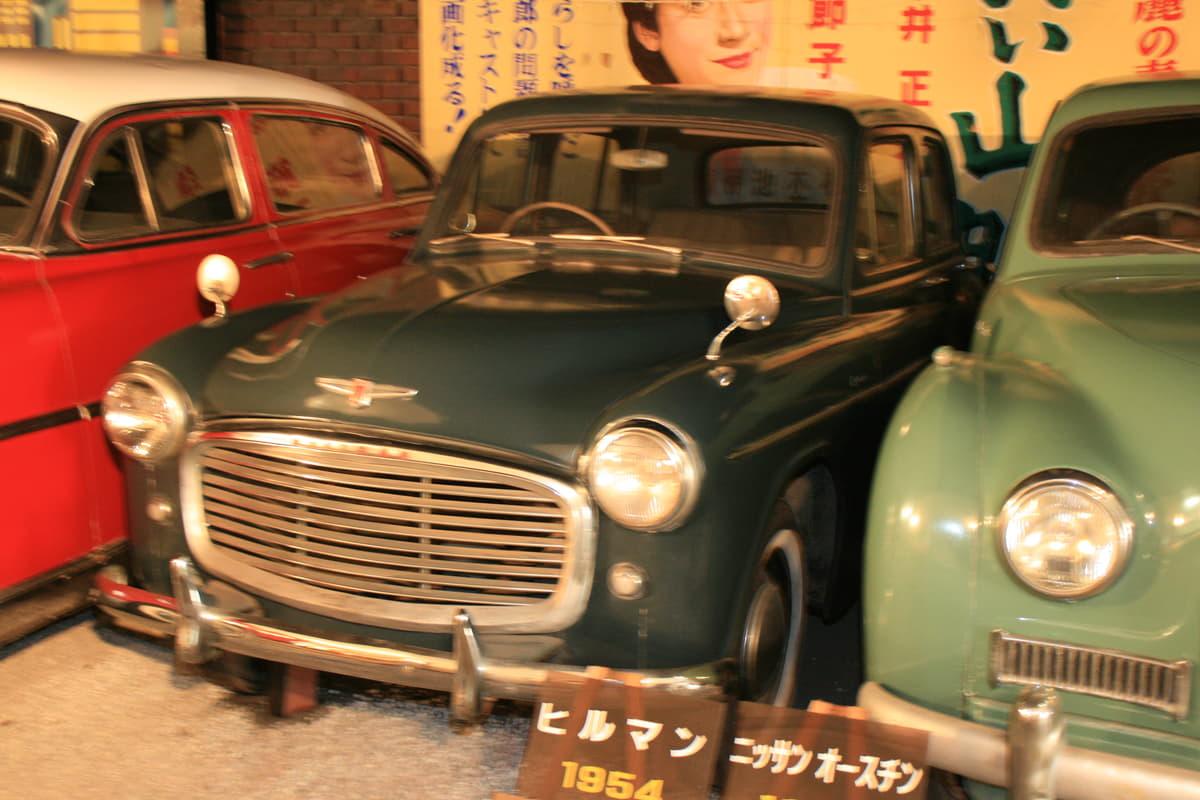 トラックやバスを製造する自動車メーカーのいすゞ自動車は100年以上の歴史を持ち、乗用車も製造していた