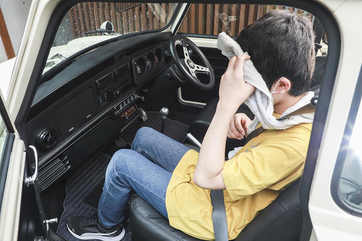 旧車のエアコンは空調が難しい