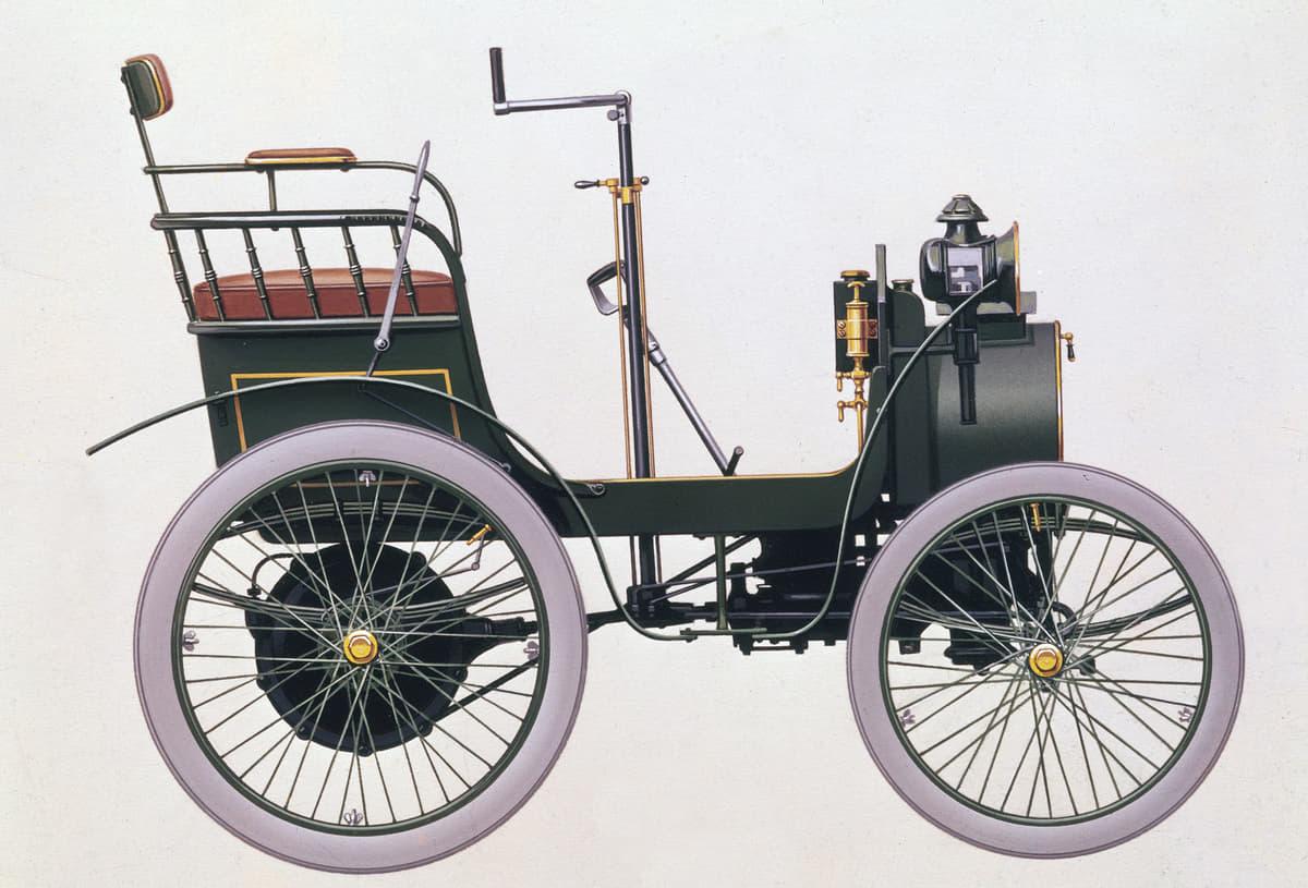 1898年に登場したルノー・タイプA