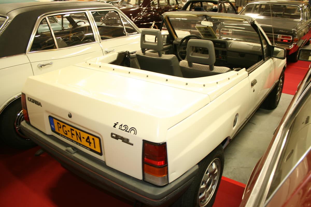 イルムシャーが仕立てたコンプリートカー、オペル・コルサ(A)i120
