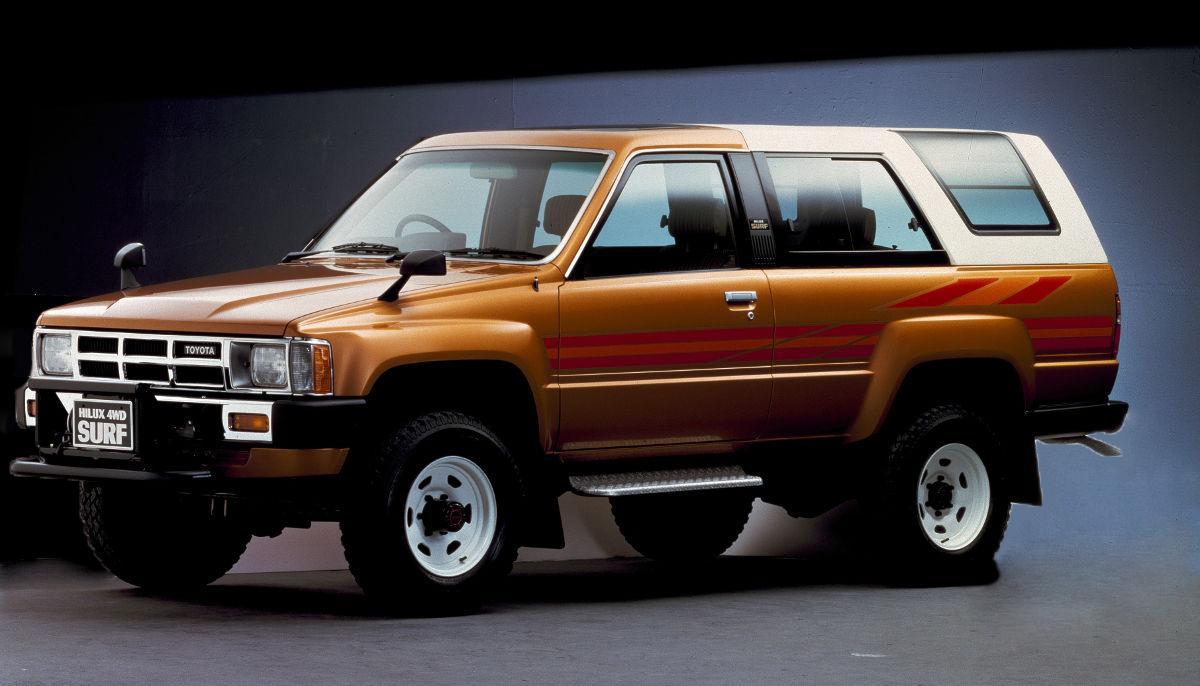 1983年に登場したトヨタのハイラックス・サーフ