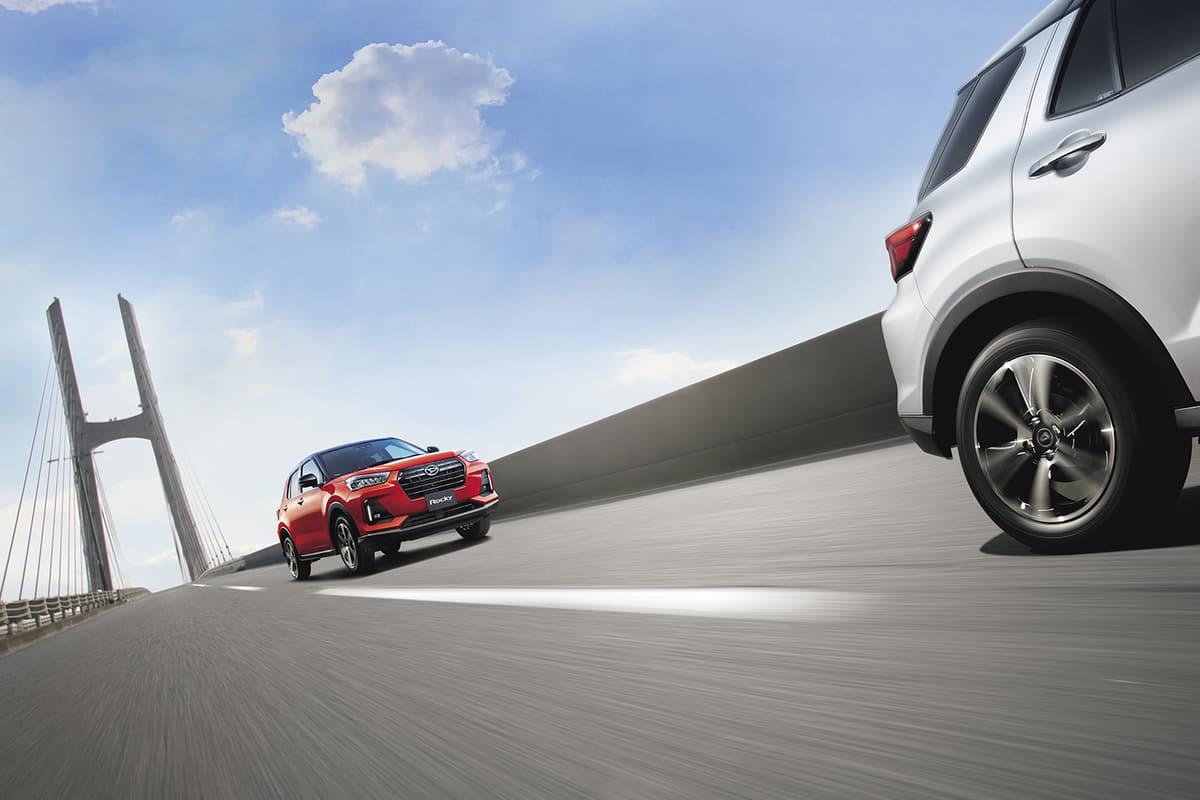 「ダイナミックコントロール4WD」を採用しているダイハツ・ロッキー