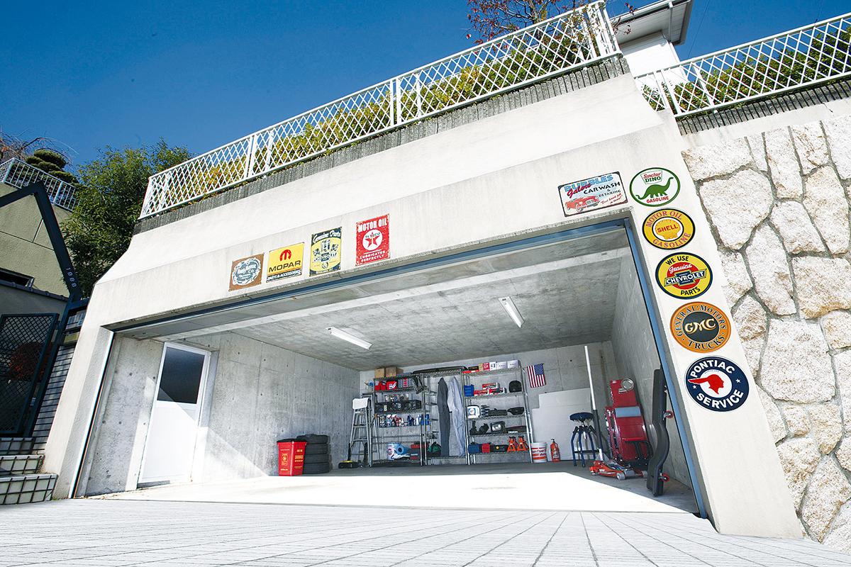 旧車の保管に適したガレージ