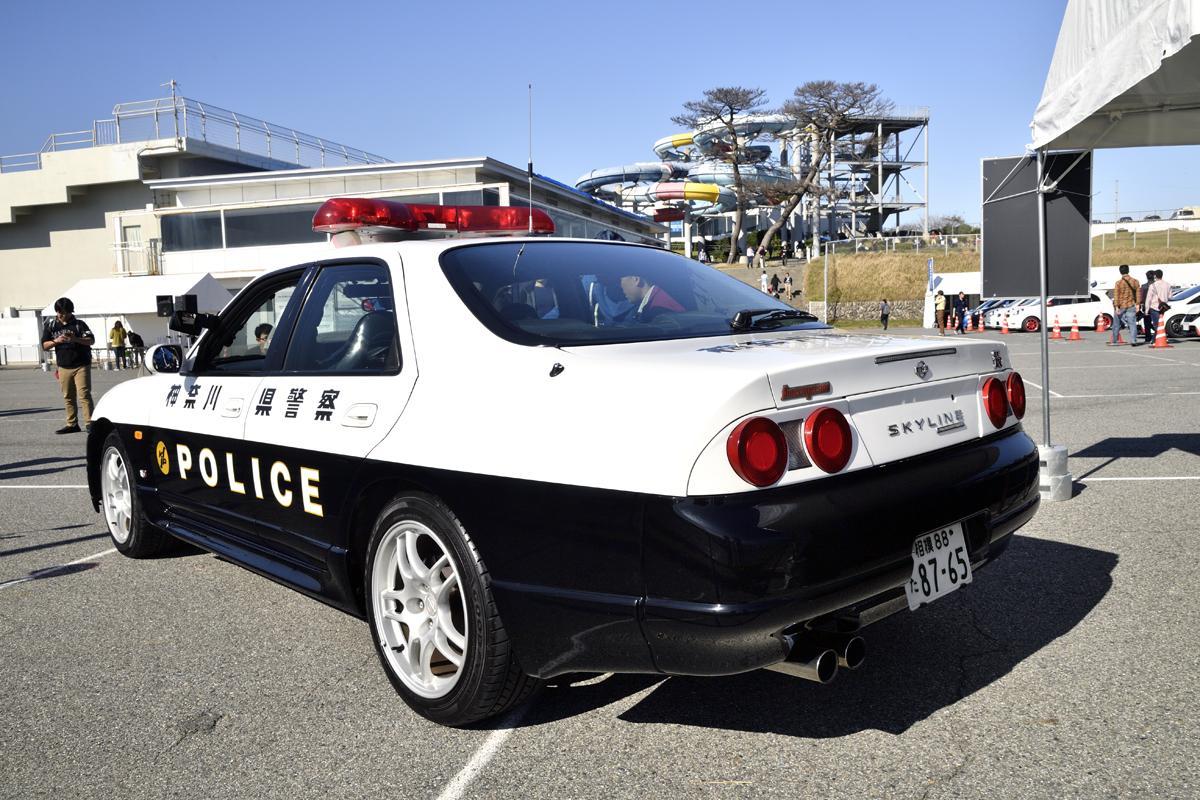 オーテックのイベントに出展されたR33GT-R展示車両
