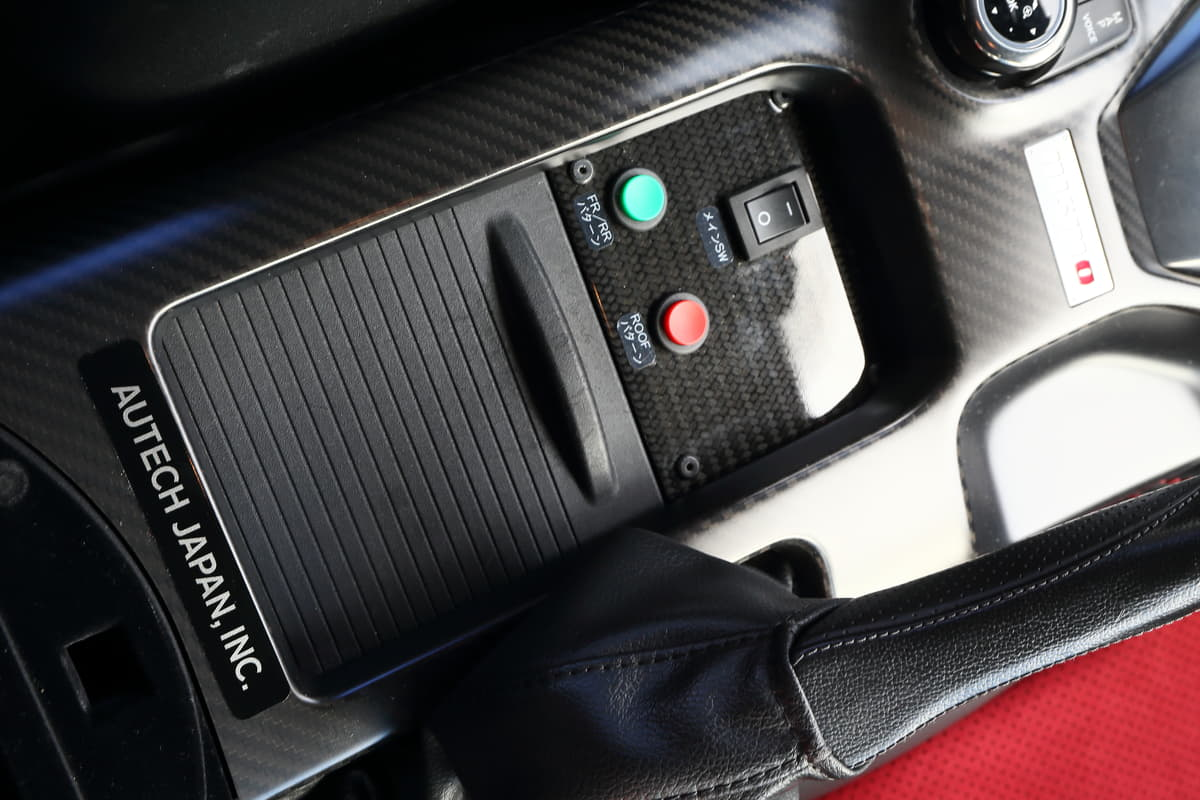 FSWオフィシャルカーの日産GT-R NISMO