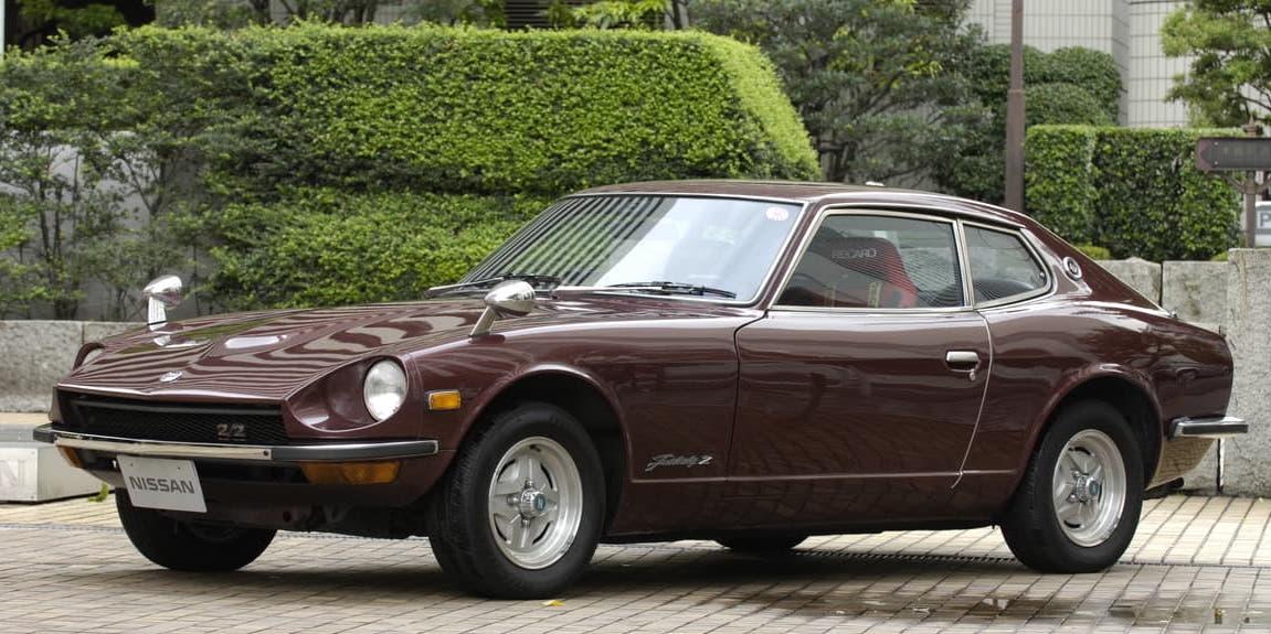 1971年製S30フェアレディZ(240ZG)