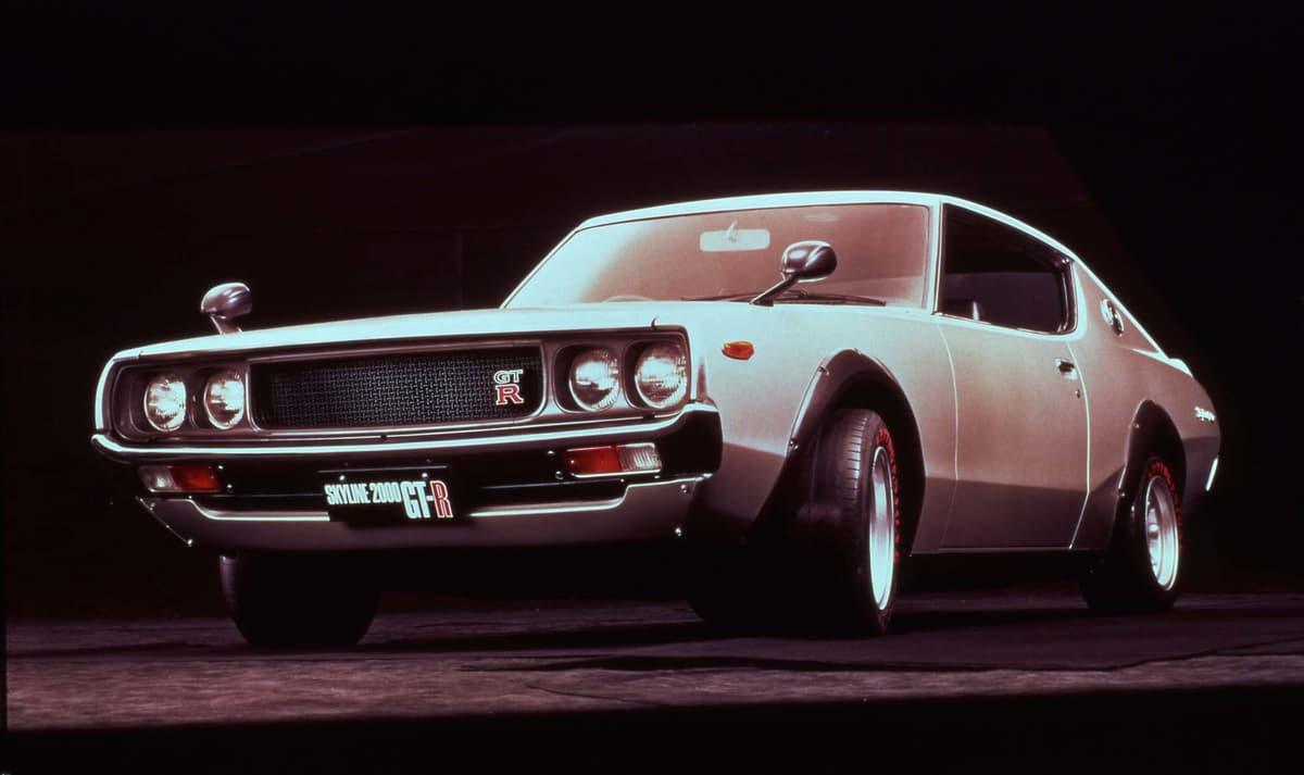 1973年製スカイラインGT-R(ケンメリ)